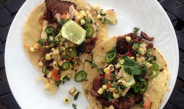 Showcase elk tacos.