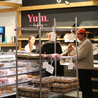 Yum Bakery is one of the vendors at the Calgary Farmers' Market.