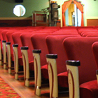 The interior of the Empress Theatre in Fort Macleod Alberta