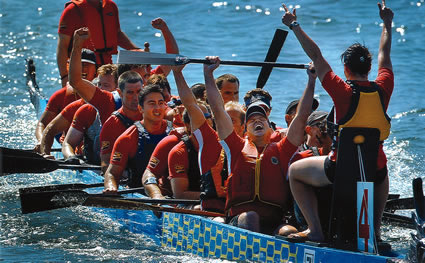 dragon boaters