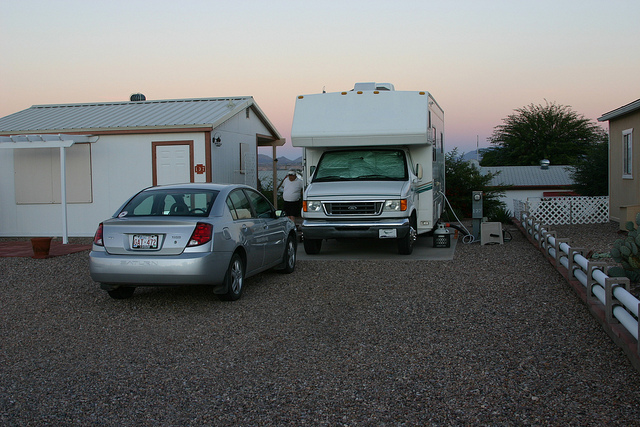 Living On A Small Pad In An Rv Park Rvwest