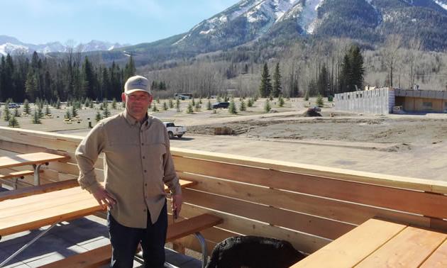Reto Barrington, managing partner at Fernie RV Resort.