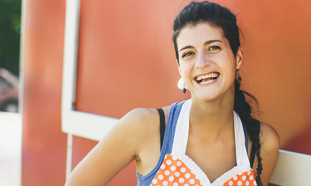 Maria Aryan is the owner of Fork, a food truck in Creston, B.C.