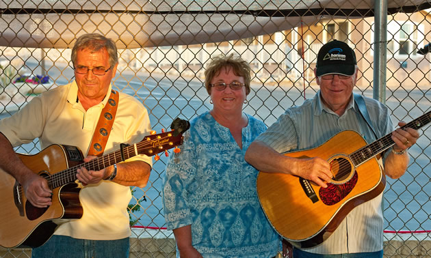 Fountain of Youth Spa RV Resort features lots of live entertainment.