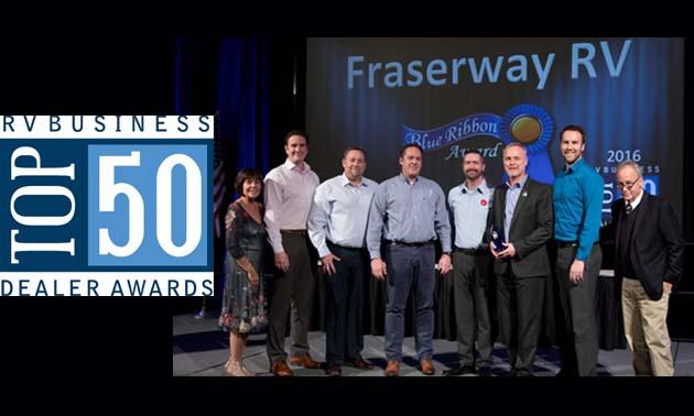 Fraserway RV receives top awards | RVwest
