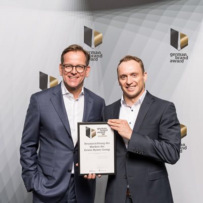 Stefan von Terzi (left), Head of Erwin Hymer Group Marketing & Communications; Andreas Ortlieb (right), Erwin Hymer Group Marketing Operations