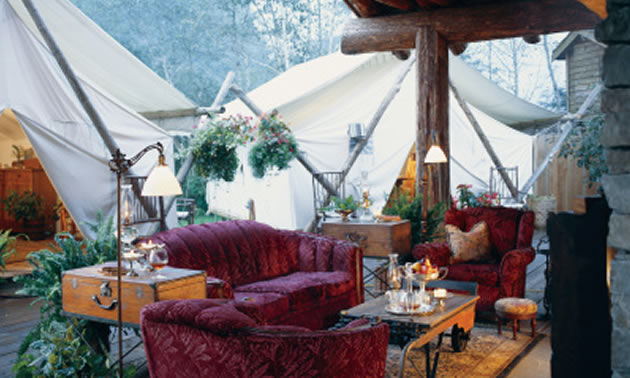 Clayoquot Wilderness Resort is the ultimate in high-end, rustic-luxury resorts.