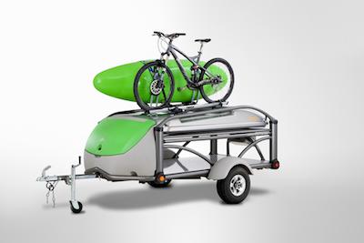 A tiny trailer