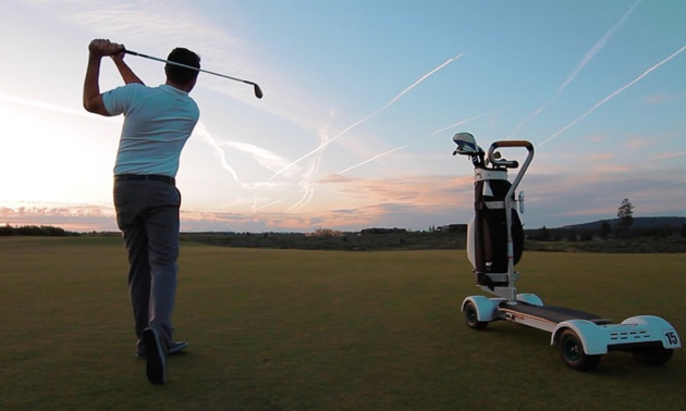 Surf The Earth With The Golfboard Rvwest