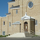 cathedral style church