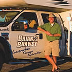 Brian with his RV
