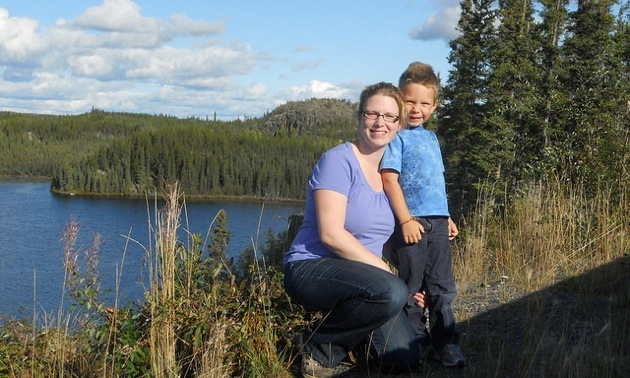 Leanne and Ethan Hannah have explored the countryside just east of Yellowknife along the Ingraham Trail, a 70-km stretch of Highway 4 heading east through cottage country.