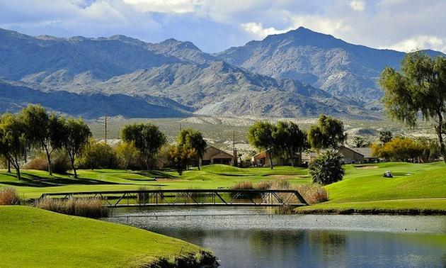 Hole 11, Mojave Resort Golf Club.