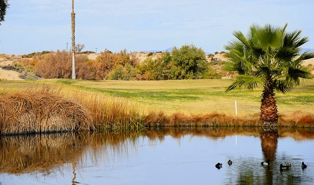 Another view of Hole 2 at Roadrunner Dunes.