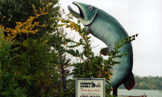 statue of a fish