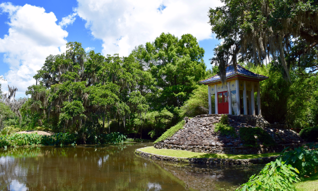 Avery Island's Jungle Gardens covers 170 acres (69 hectares)
