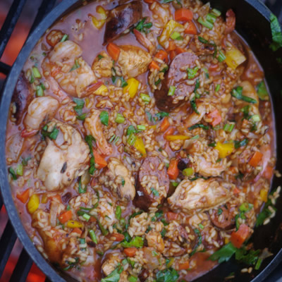 Jambalaya is what happened to Paella after emigrating to North America