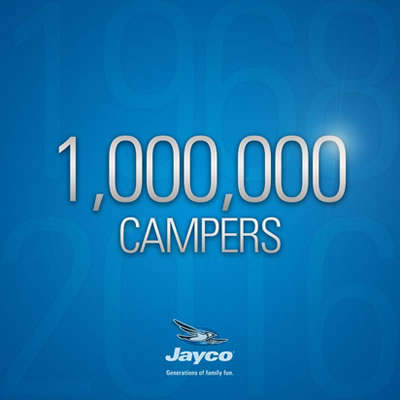 Picture of a Jayco trailer.
