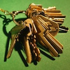 keys on a keychain