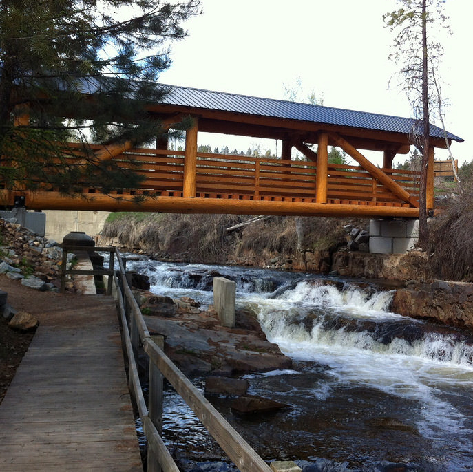 Marysville Falls, near Kimberley, BC.