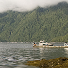 people boating on the water in Kitimat, BC
