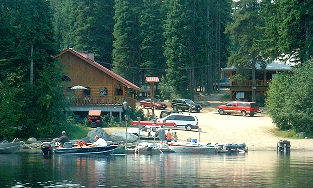 Camping In Lake Country Bc Campgrounds Rv Resorts Rvwest
