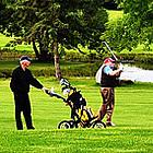 people playing golf at Leduc Golf Club