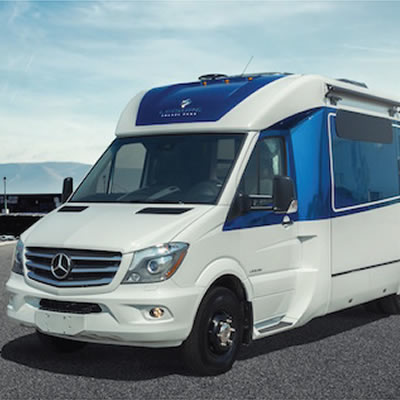 Picture of concept Leisure Travel Van.