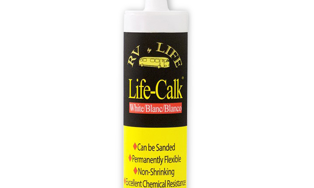photo of the life calk bottle