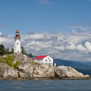 Point Atkinson Lighthouse, built in 1875 is still in operation today.