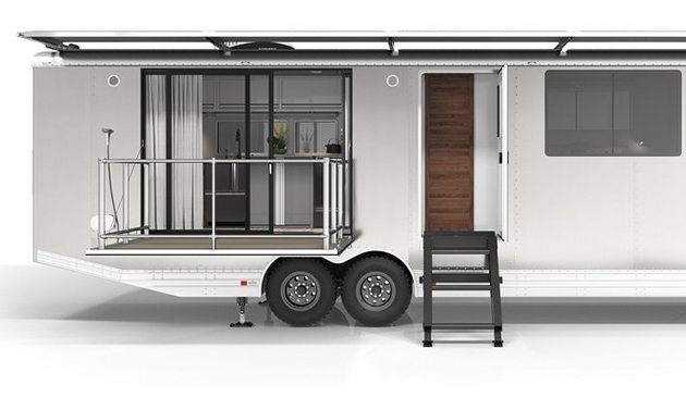 exterior of RV