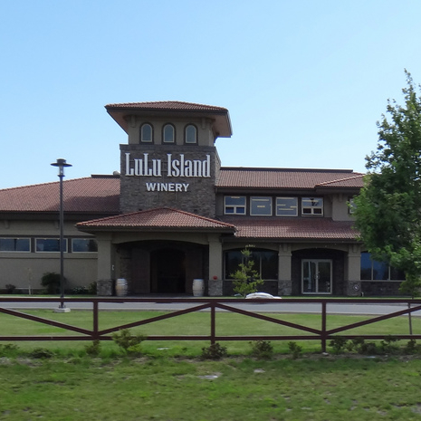 Lulu Island Winery is located in Richmond, B.C., and its main building is pictured here.