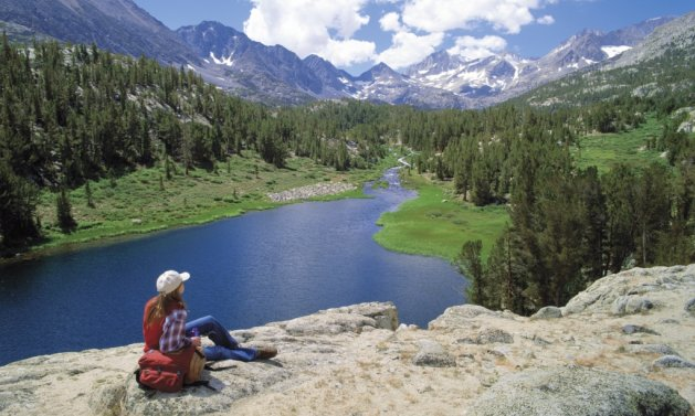 people rving in mammoth lakes, california