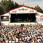 people celebrating at the Merritt Music Festival
