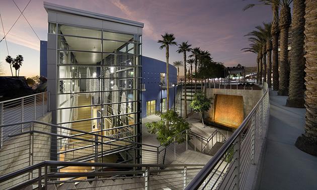 Mesa Arizona arts center building