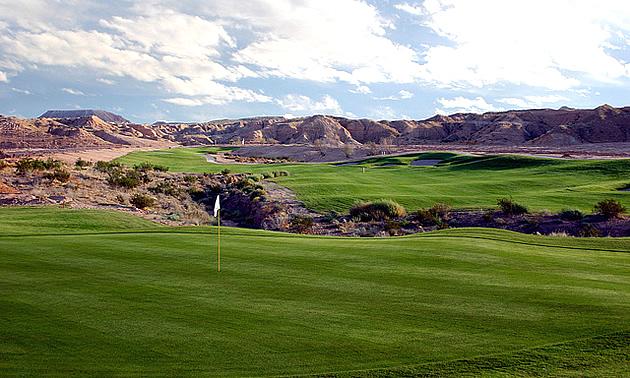 golf course in Mesquite nevada