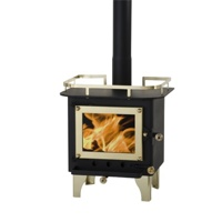 A Cubic Mini Wood Stove.