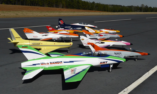 The Smiths connect with fellow RC jet enthusiasts across the U.S.