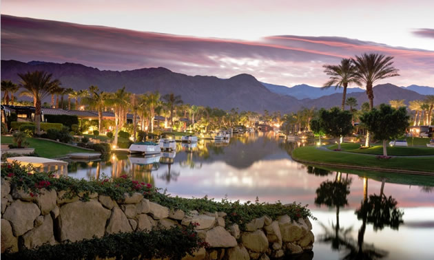 The Motorcoach Country Club boasts a panoramic view of the Santa Rosa mountain range.