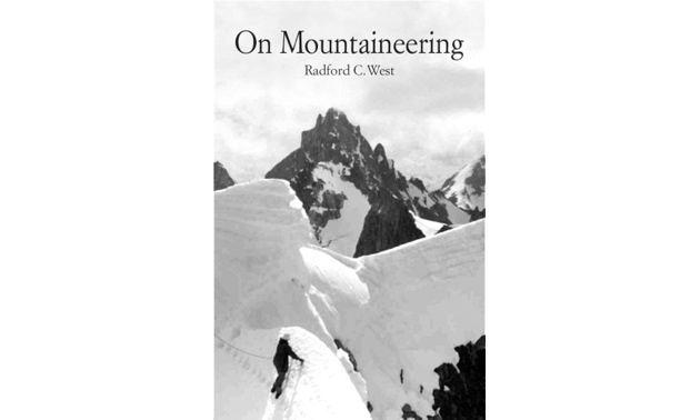 The book cover of On Mountaineering.