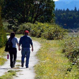 Hiking in Nanaimo, BC