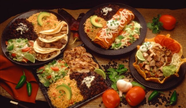 mexican food like they serve in Niland, California