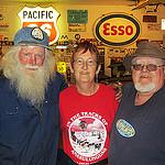 Left to right: Marl Brown of Fort Nelson, Lynda Pilson, Duane Pilson.