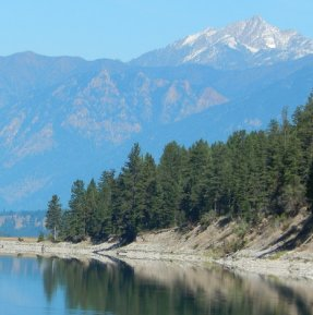 A calm morning on Lake Koocanusa.  Sue Gillard photo