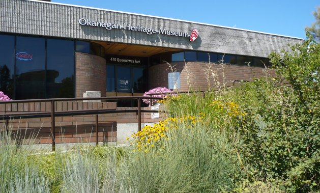 The Okanagan Heritage Museum has an eclectic range of exhibits inside.
