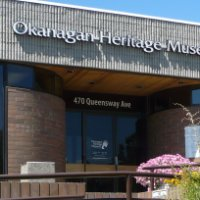 The Okanagan Heritage Museum has an eclectic range of exhibits inside.