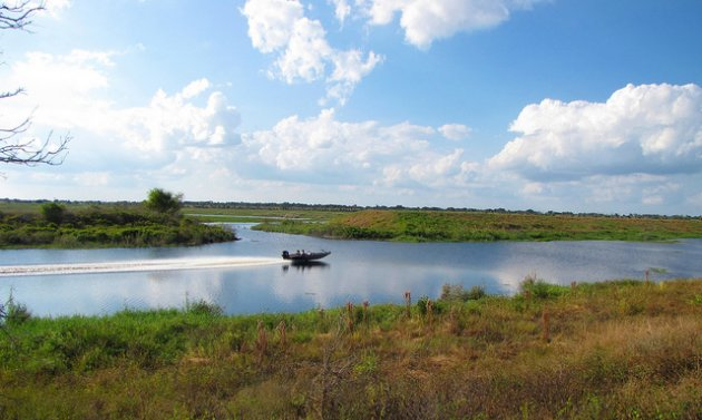 Lake Okeechobee is ideal for outdoor recreation.
