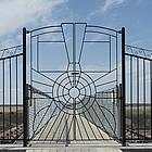 entrance to a bridge
