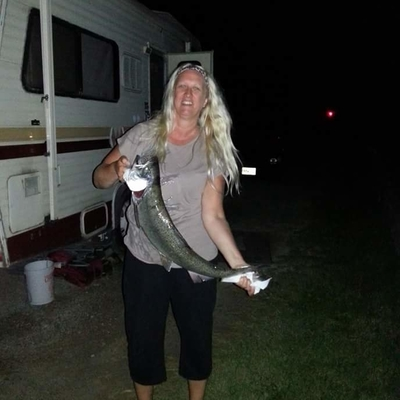 Camping during Owen Sound's salmon spectacular