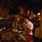 Dining on Palm Canyon Drive